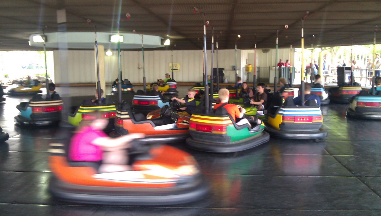 best selling bumper car rides in China