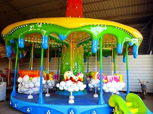 kiddie carousel with novel appearance