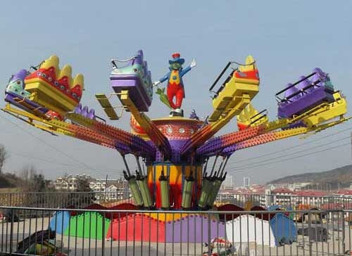 Amusement Park Jump And Smile Ride