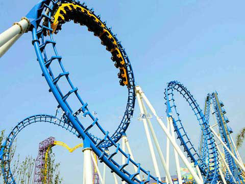 Thrill big roller coaster ride for sale