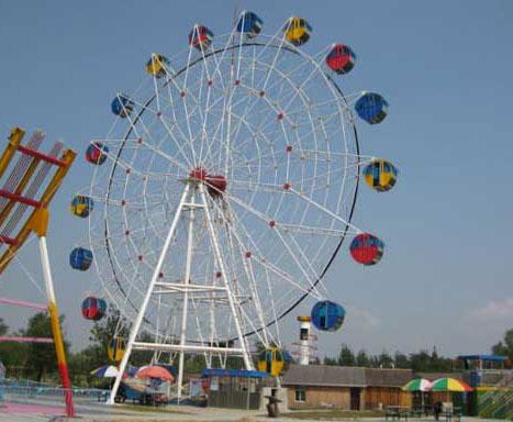 Large ride amusement ferris wheel for fairground