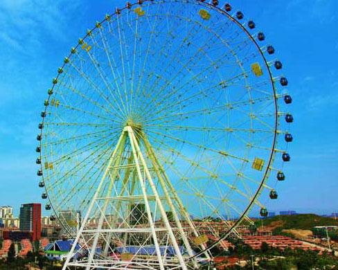 Quality amusement large ferris wheel ride