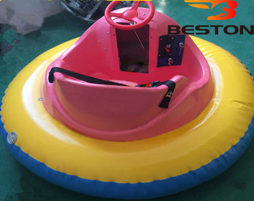 Kiddie coin operated bumper boats rides