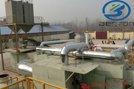 Simplified Plastic Pyrolysis Plant Project Report