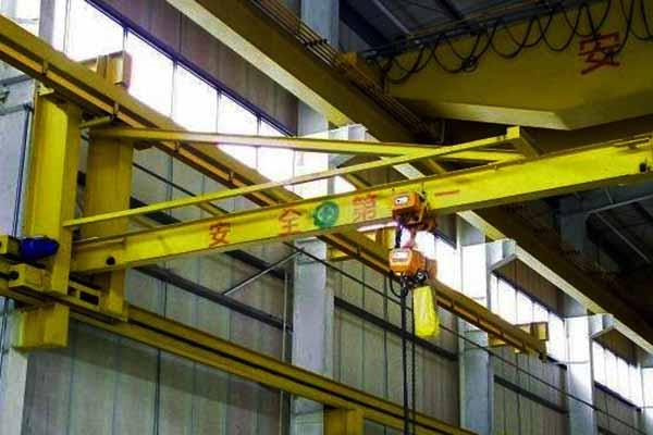 Ellsen wall mounted jib crane