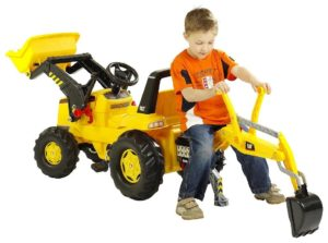 Kettler Backhoe Loader Ride On Toy