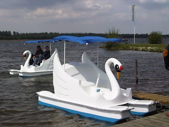 white swan quality paddle boats for water parks