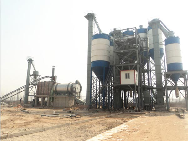 small dry mortar production line