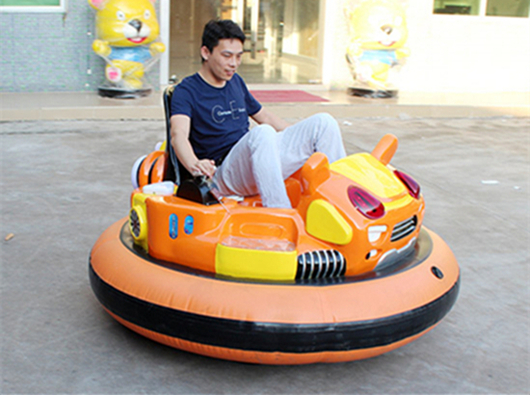 Kiddie and adults inflatable bumper cars