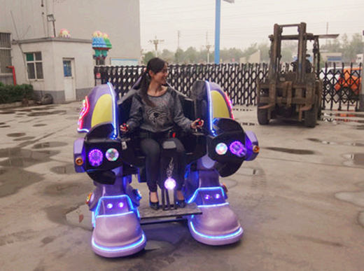 Robot ride new amusement park ride