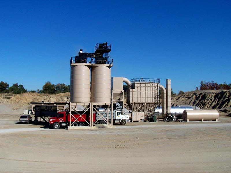 asphalt plant with small size