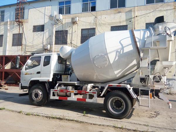 dry mix concrete trucks