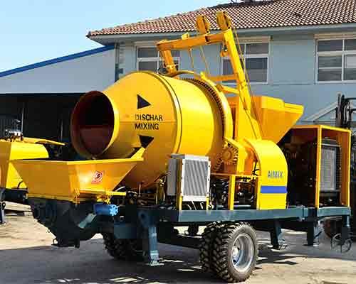 Concrete mixing pump for sale