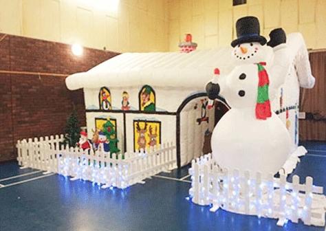 Christmas inflatable house for sale
