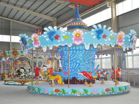 Ocean Carousel Ride for Kids