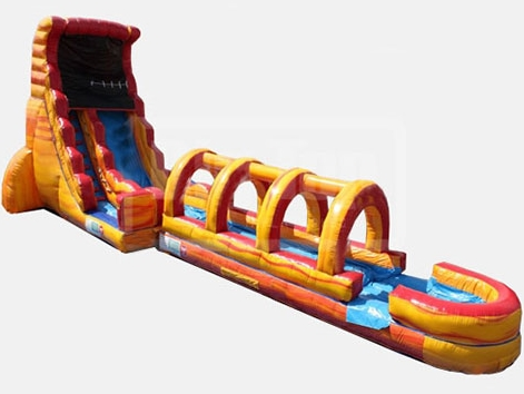 Hot sale blow up water slide