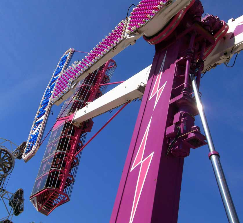 kamikaze thrill ride for sale