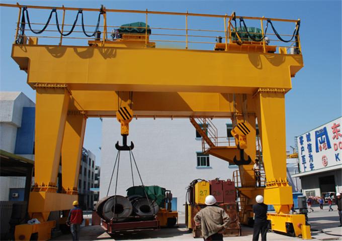 Sell double girder gantry crane 60 ton
